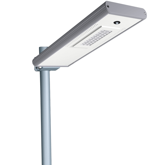 Solar LED Street Lights 15W - 1800LM Integraded LED Street Lights with Smart Control and Motion Sens