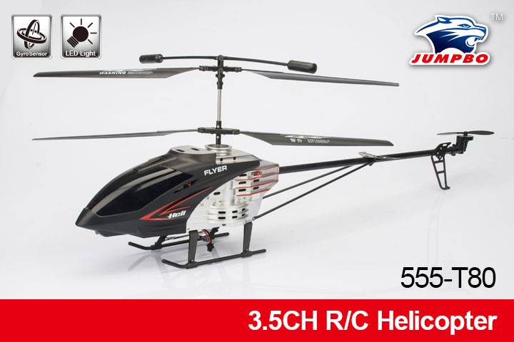 High Quality 3.5 Channels Battery Powered RC Helicopter with GYRO not easy broken