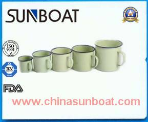Sunboat Various Capacity Enamel Travel Mug