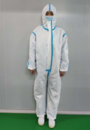 Safety clothing stock in USA ware house protective suit Disposable Medical Protective Clothing