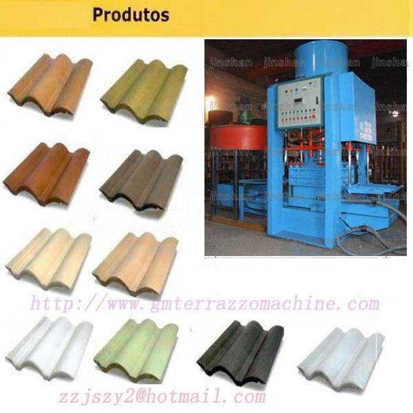 The most preferential price of roof tile machine suppliers