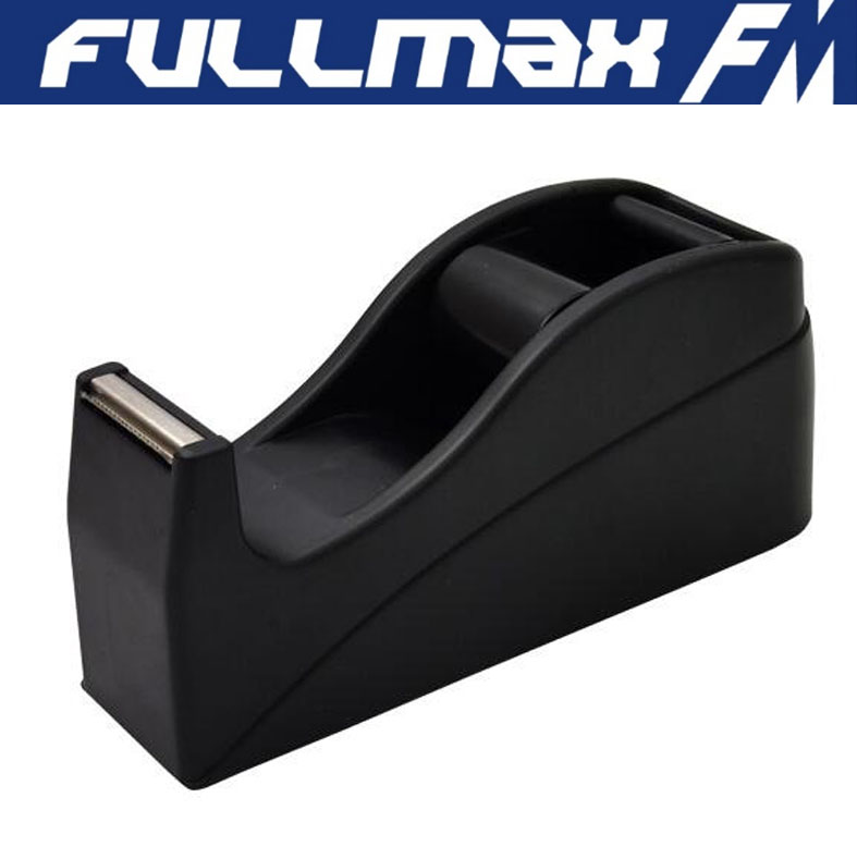 Desk Tape Dispenser 1in Core Black