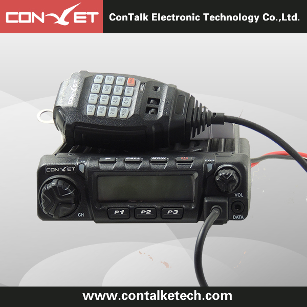 ContalkeTech 2 Way Mobile Radio CTET-AM980 UHF400-470MHz 45/25/10Watt 200CH Mbile Transceiver