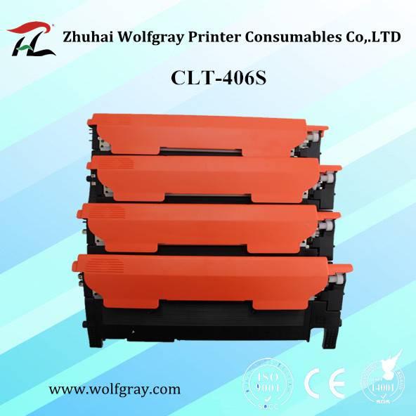 Compatible for Samsung CLT-406S color toner cartridge