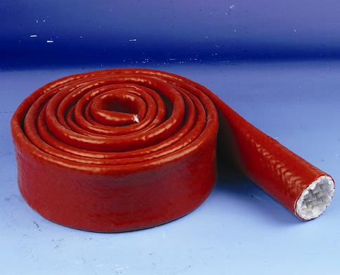 Fiberglass Sleeving with silicone rubber coated
