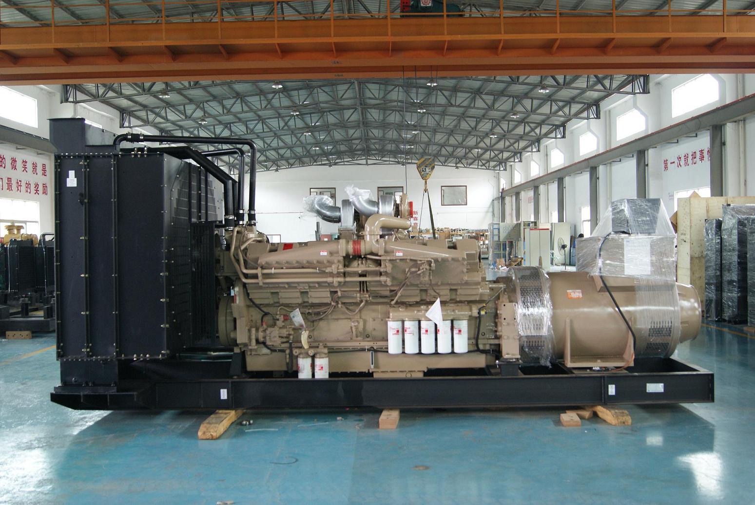 750KVA diesel generator set