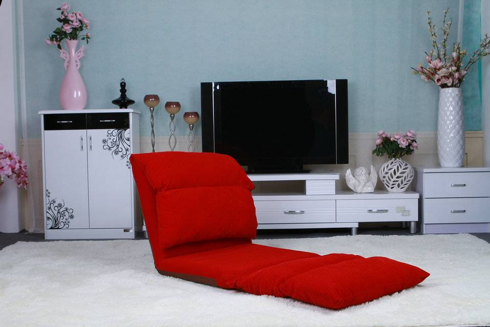Lazy folding multi-function folding chairs leisure cloth art sofa bed beach mat backrest floor chair