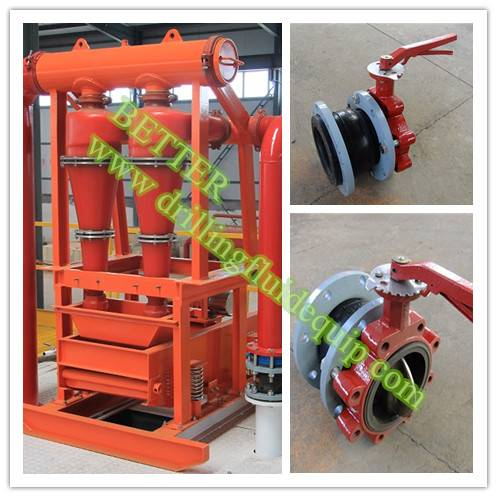 BETTER Solid Control Mud Cleaner Drilling Fluid Desander Desilter
