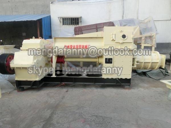 high quality shale/gangue vacuum brick making machine