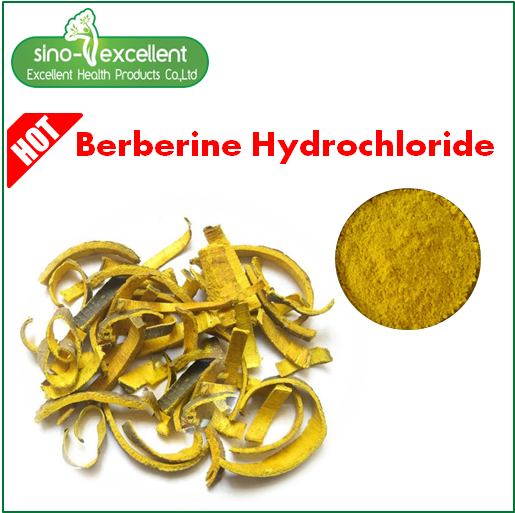Berberine 97% CAS 633-65-8
