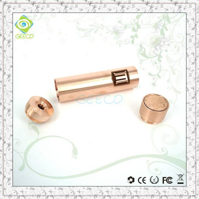 Geeco free sample from China manufacturer clone copper penny mod wax vaporizer