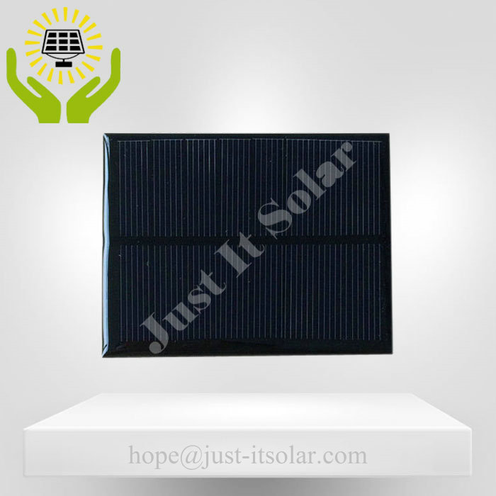 4V 200mA 0.8W Epoxy Resin Mini Solar Panel
