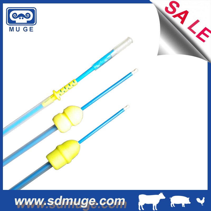 Pig AI post cervical intrauterine semen catheter for pig artificial insemination