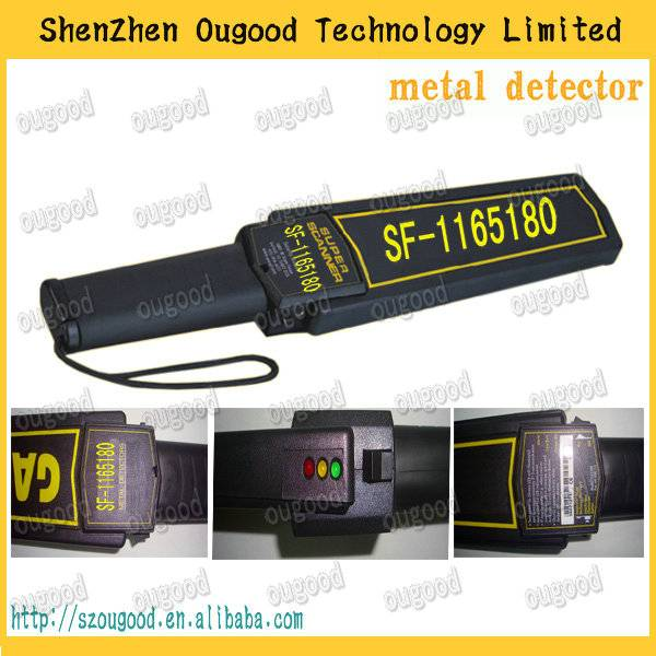 detecting metal super scanner for personal security hand held inspection equipment