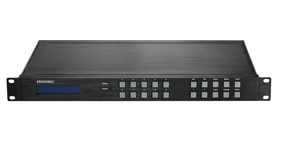 VISSONIC 4K HDMI 8x8 matrix switcher
