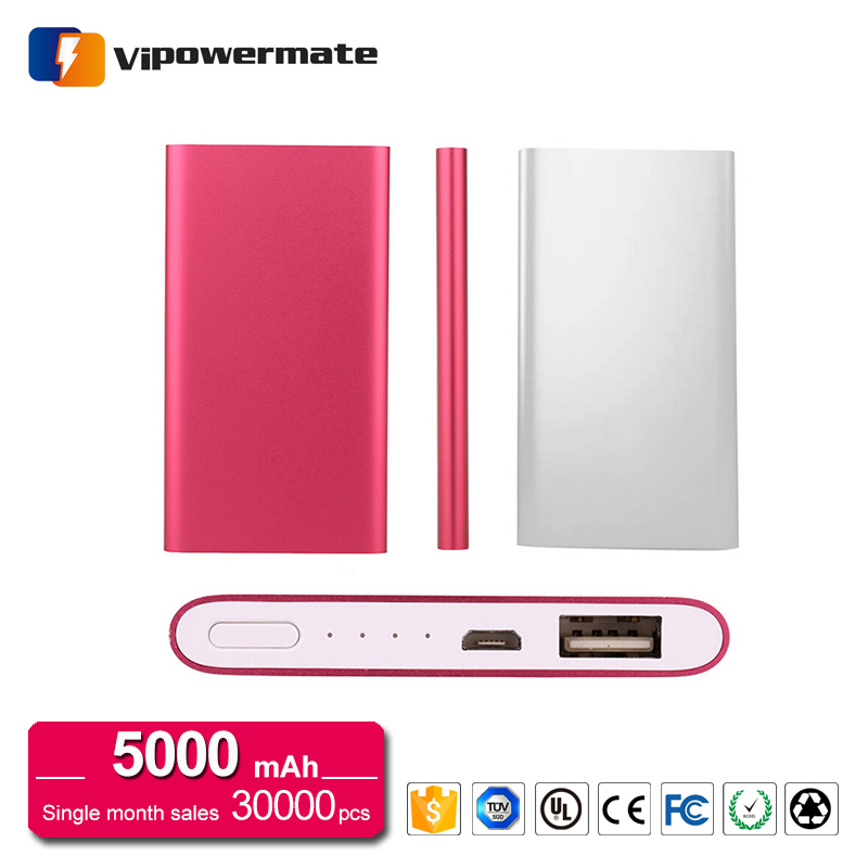 PT-67 5000mAh Brand New Super Thin Power Bank