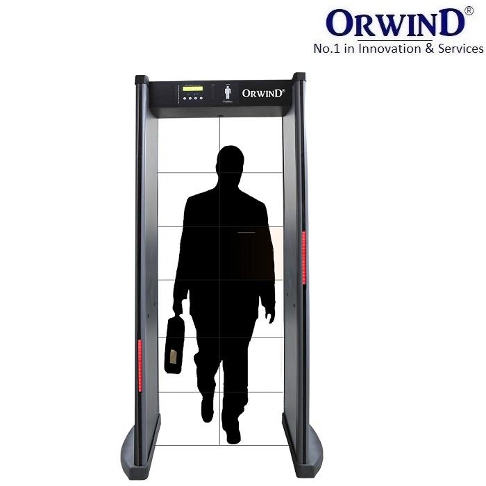 ORWIND MX-100 Multi Zone Door Frame Metal Detector