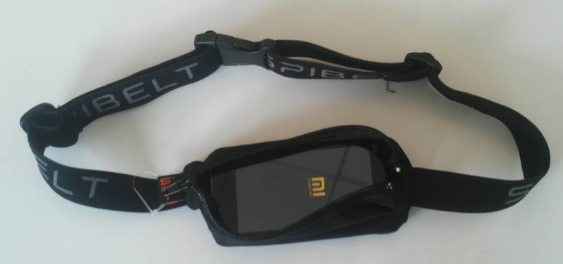 Mobile phone waist belt for running