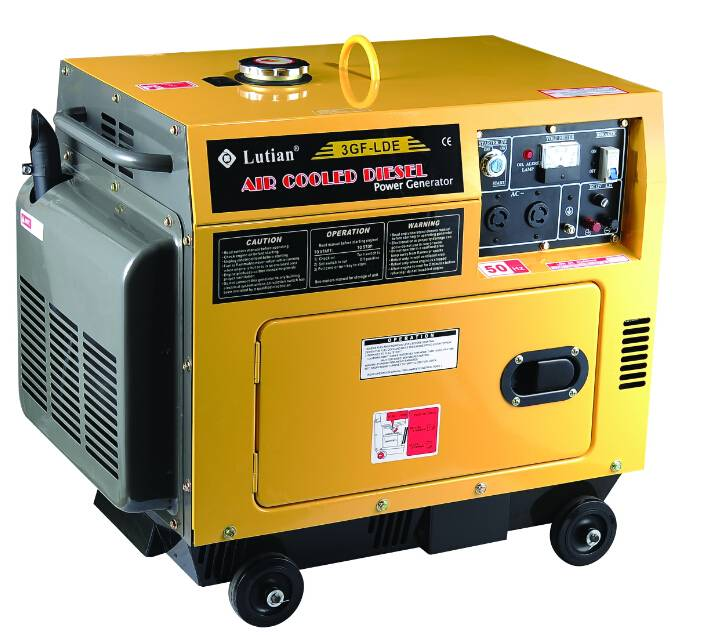 3KW Diesel Generator w/ ATS - China Lutian Machinery Co , Ltd