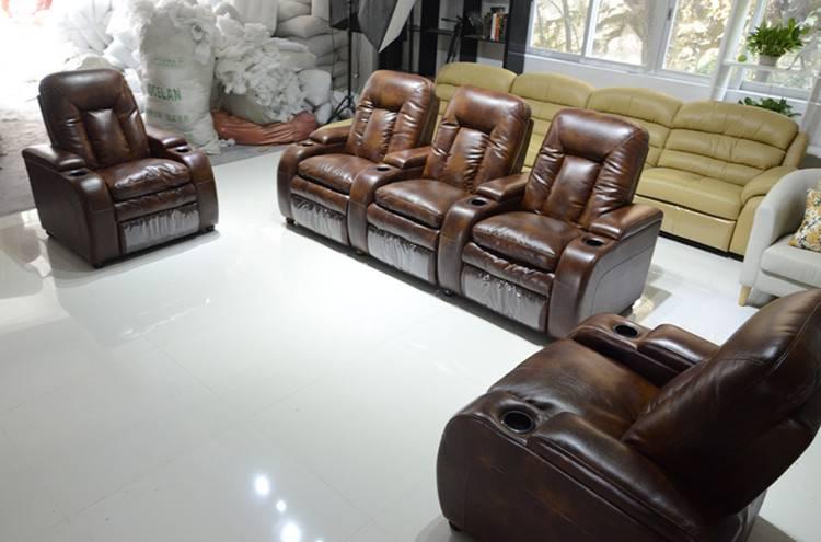 Living room furinture recliner sofa h816