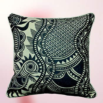 cushion cover - Totem of Frog