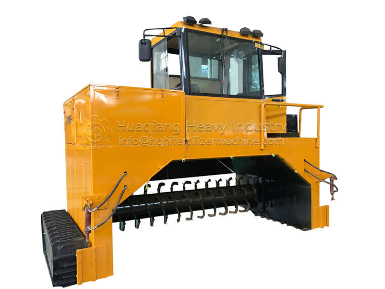 Windrow Compost Turner-manure composting machine