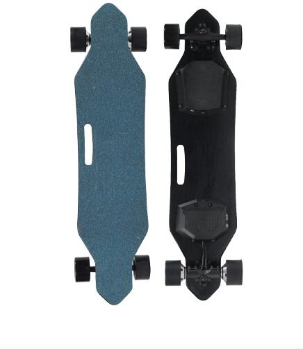 dual motor fastest off road electric skateboard with lights