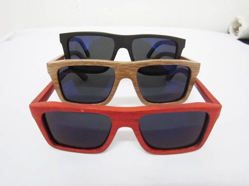 2015 cheap Polarized natural wooden Sunglasses with box