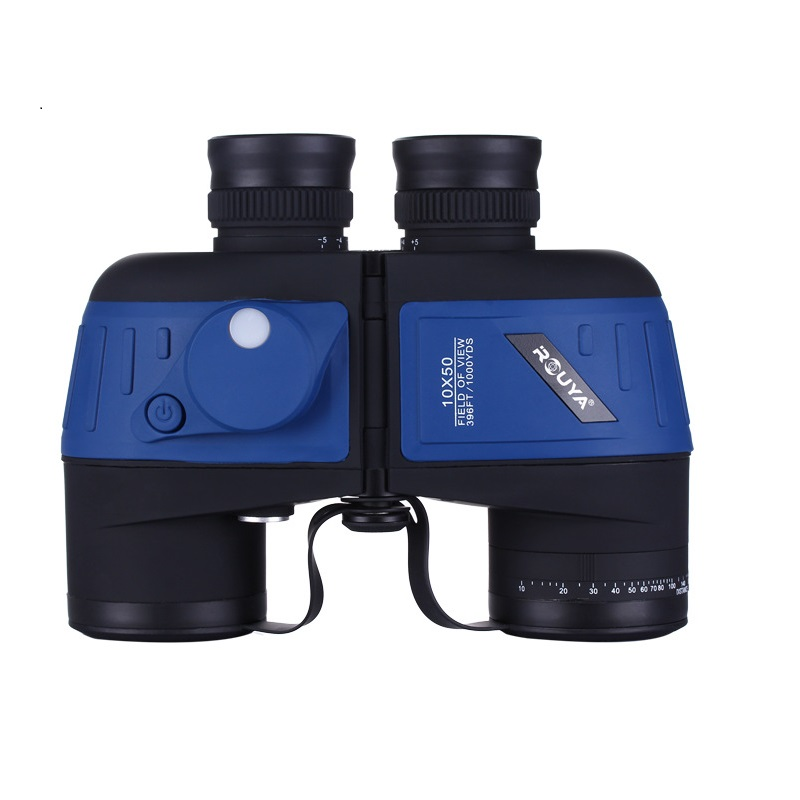 10X50 Floating Military Binocular with Compass