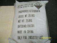 Phosphorous Acid 99% min Fe 10ppm