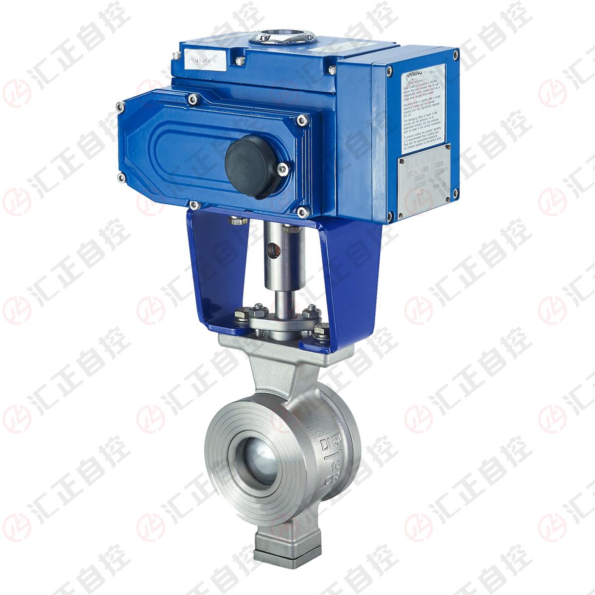 Wafer segment ball valve