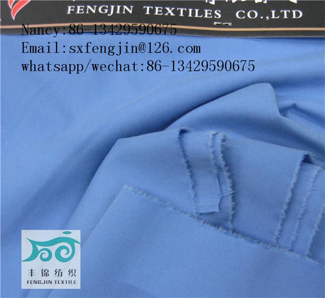 TR poplin fabric 16X16 56X48 unifrom fabric ,stock,wholesaler,hot selling