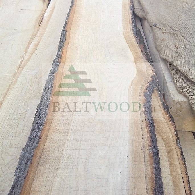 KD white oak timber