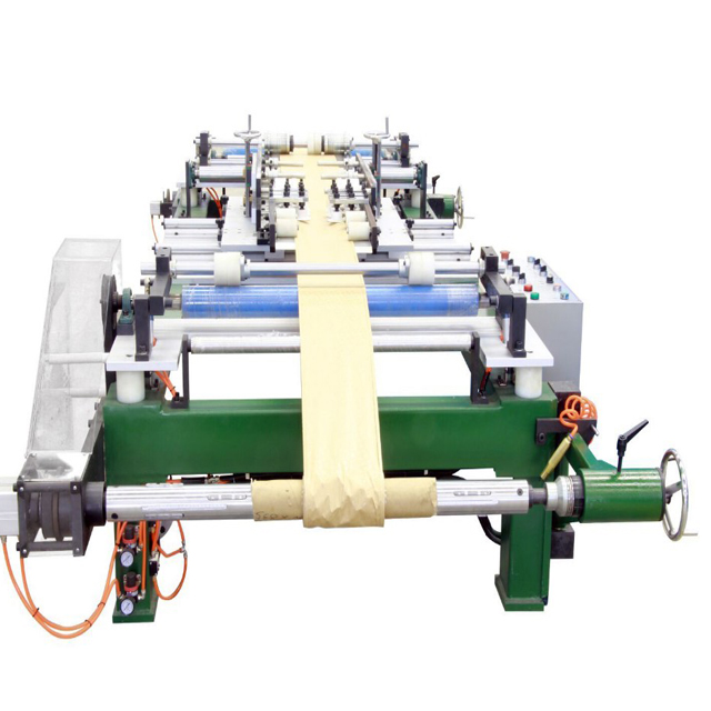 Insulation layer edge folding machine