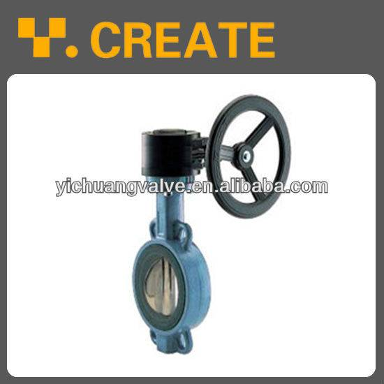 worm gear operators butterfly valve