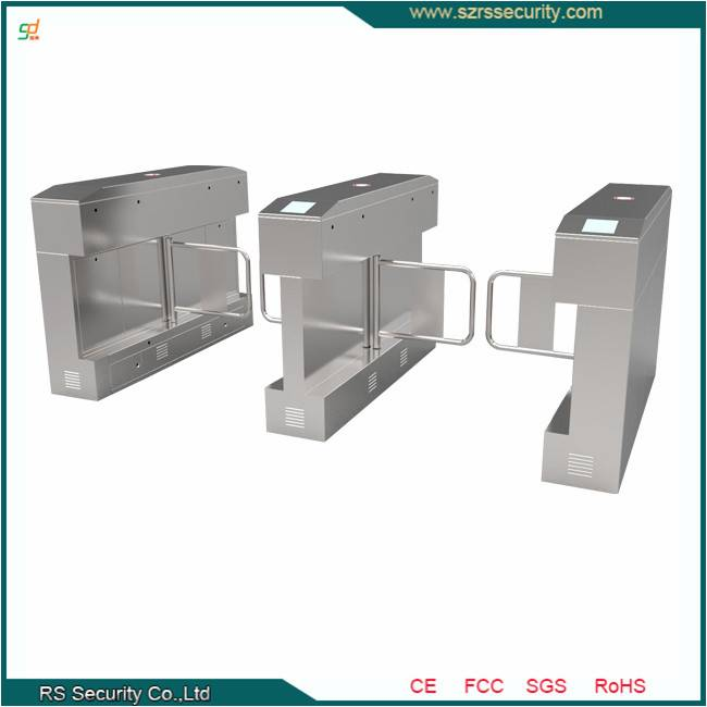 Access Control System Automatic Swing Barrier CE Approved