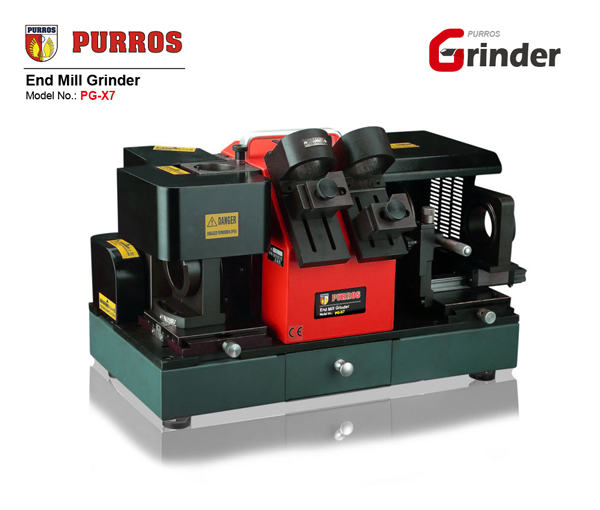PURROS PG-X7 Portable end mill grinder, end mill cutter sharpening