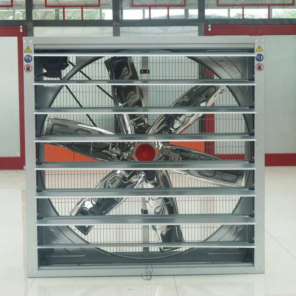 Quiet Weight Balance Type Industrial Fan For Poultry/Greenhouse