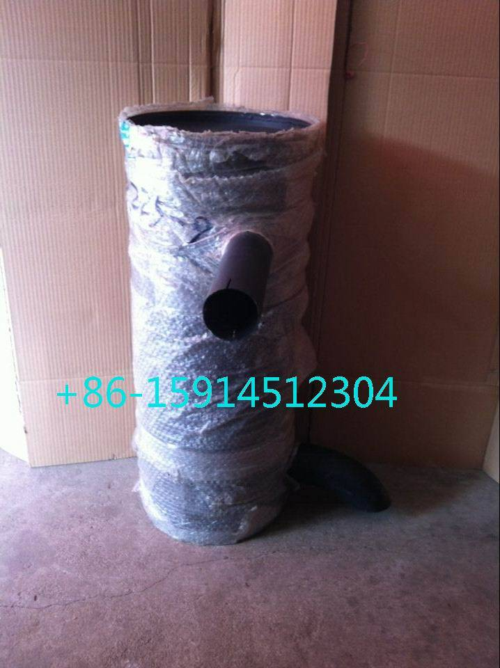 hyundai R225-9 muffler with tube clamp 3991625