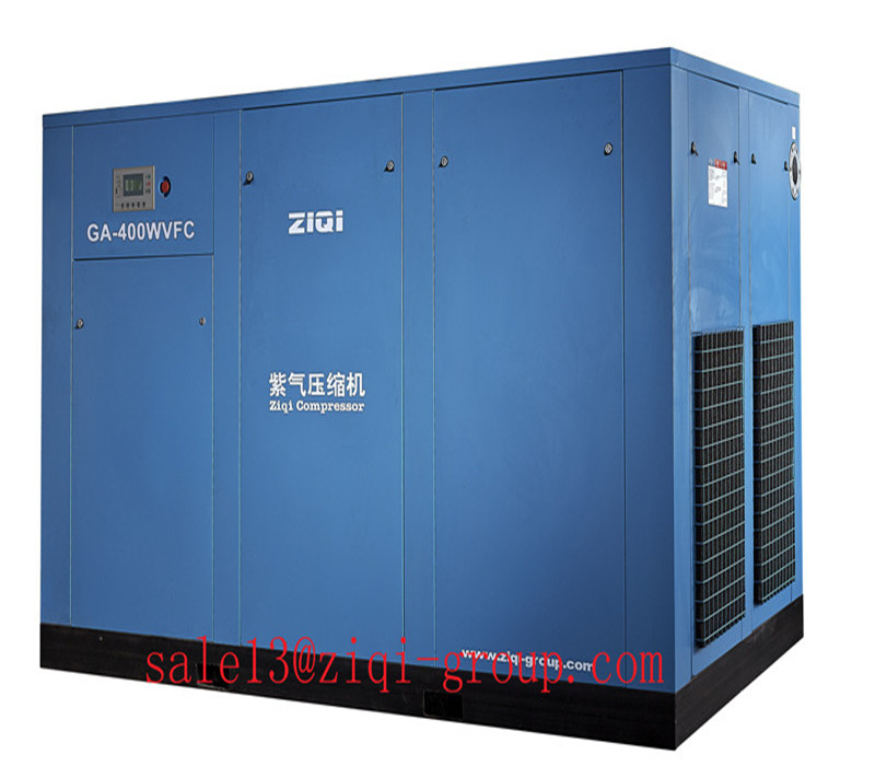 AC Power GA Serious 75KW-220KW VFC Frequency Inverter Screw Air Compressor for Industrial Machine