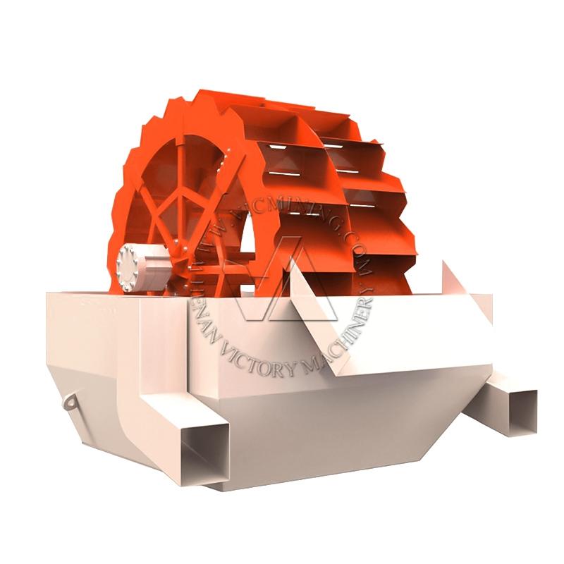 Advantage Technology wheel bucket type sand washing machine wash plant
