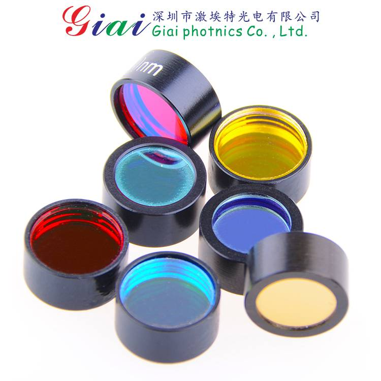 Optical Glass Narrow Bandpass Filter,311nm,360nm,380nm,470nm,532nm,556nm,650nm,656nm,780nm