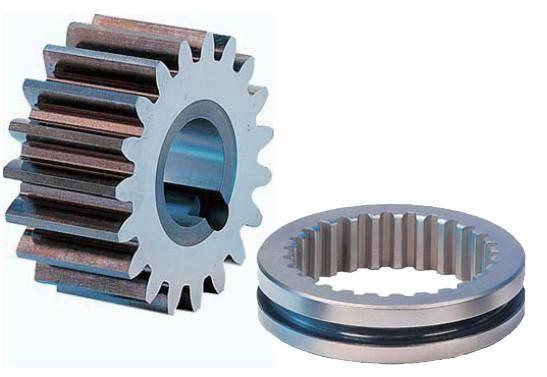 Spur gear transmission
