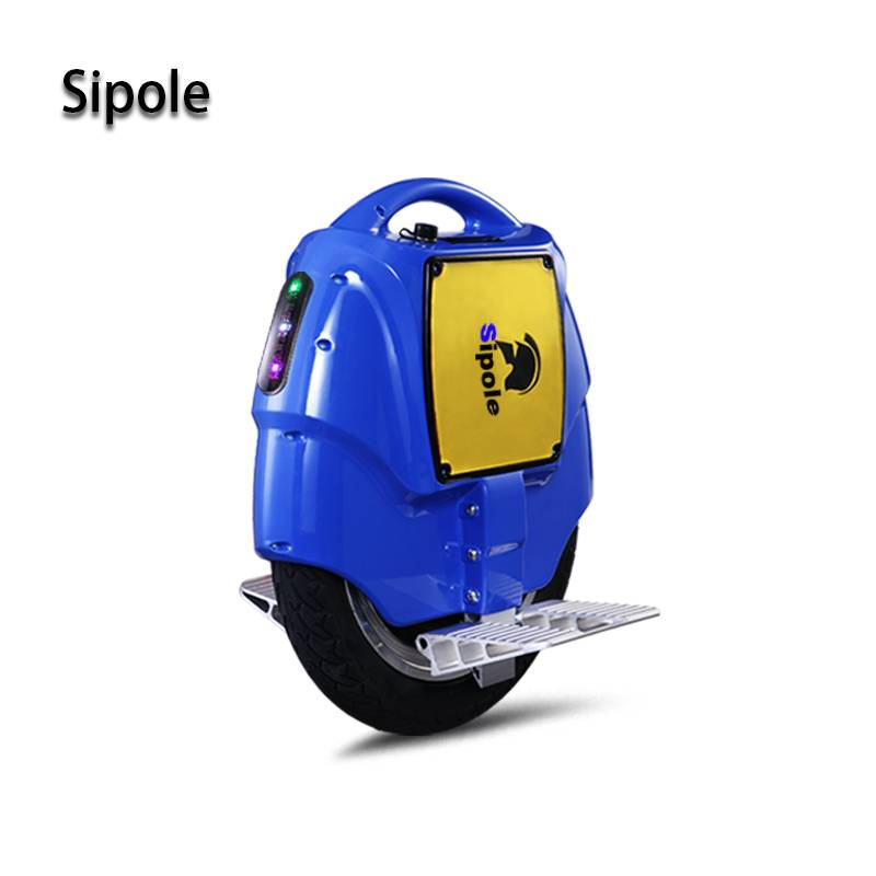 Sipole S5 174Wh 25KM Single wheel Self Balance Unicycle Electric Scooter with Fashion Flash led