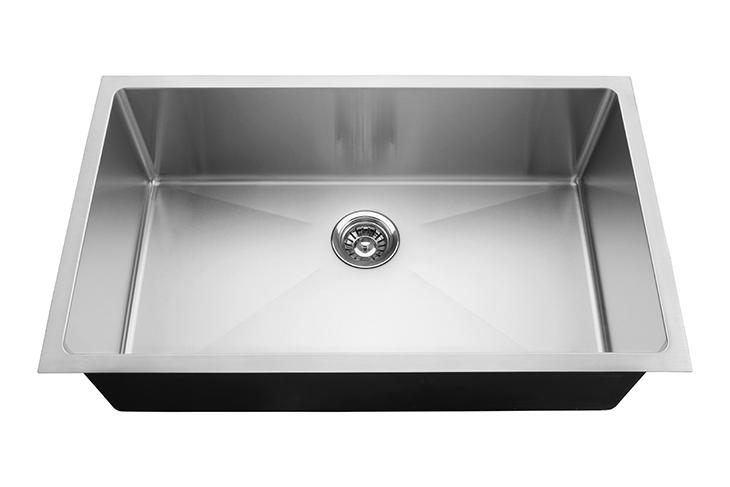 32x18 Undermount Single Bowl Handmade Kitchen Sink