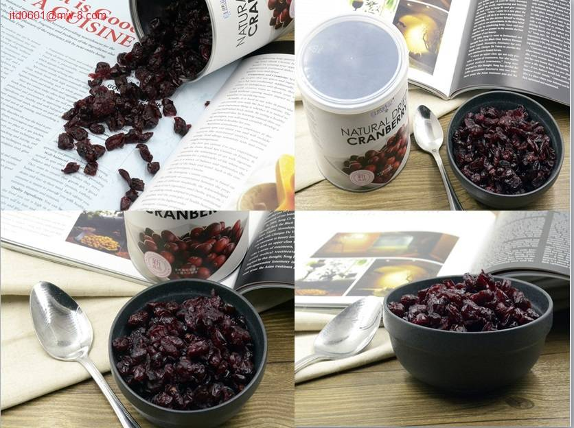 Nature Time Dried Cranberry Orangic Snack and breakfast 380G