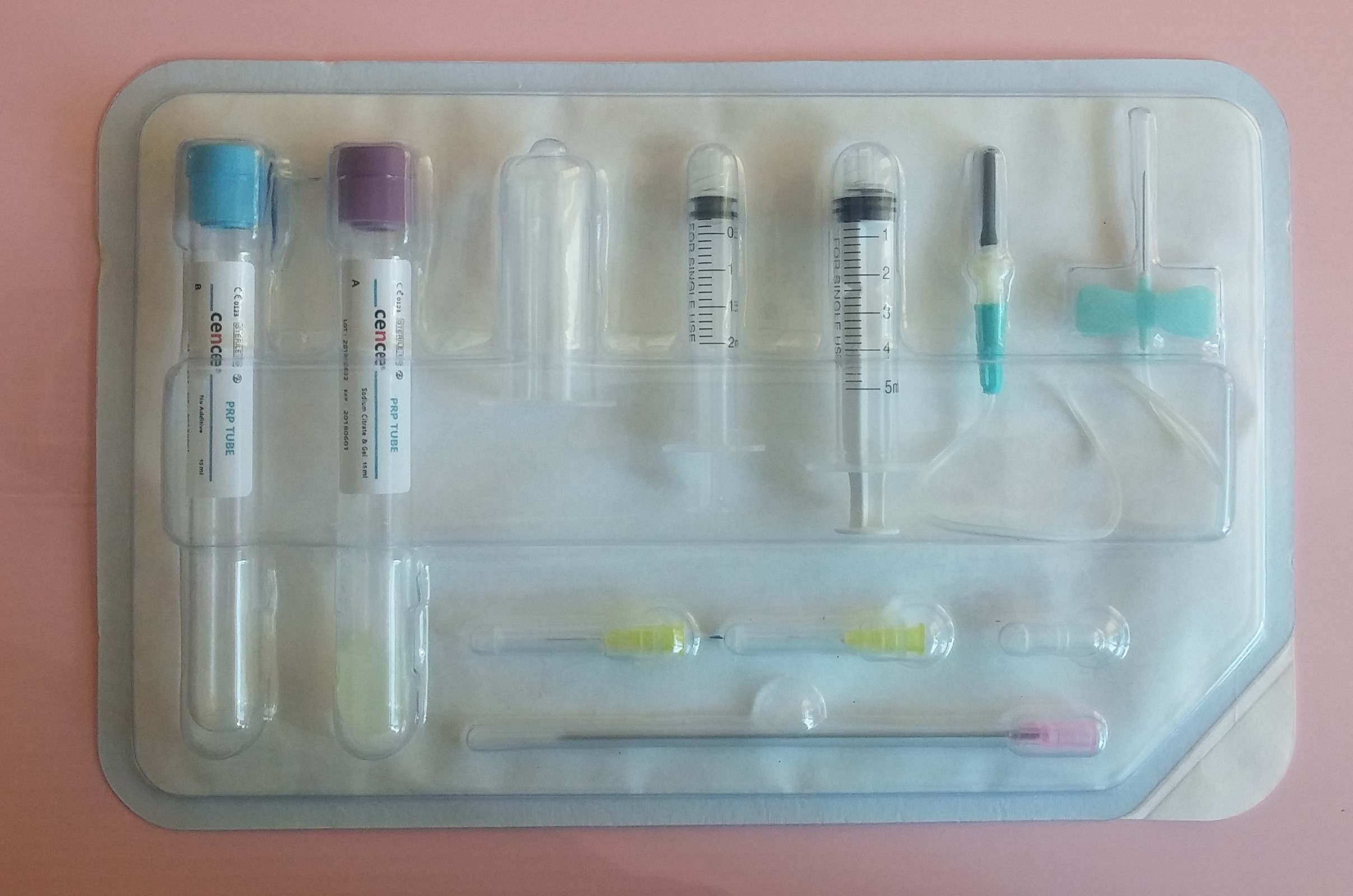 PRP (Platelet Rich Plasma) Kit with Separating Gel / Class IIa