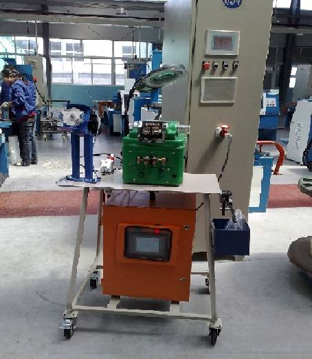 Type DS110-1(PLC) wire butt welder/butt welding machine