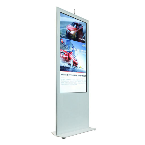 55 Inch Floor Standing Touch Screen Totem
