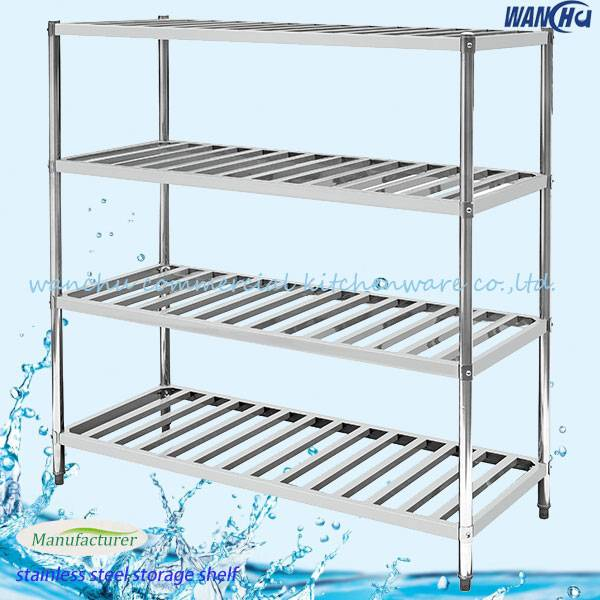 4 Layer Wire Storage Shelf,Stainless Steel Shelf/Wire Shelf